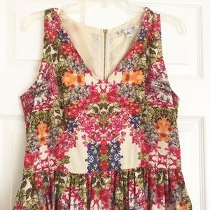 Maggy London floral fit and flare dress 12